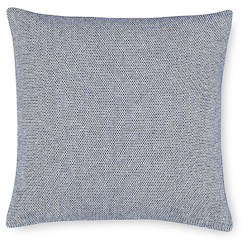 Terzo 22x22 Pillow, Navy