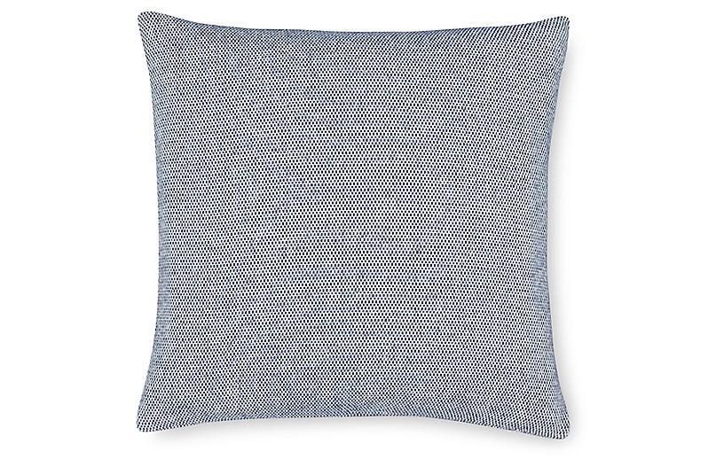 Terzo 22x22 Pillow, Navy