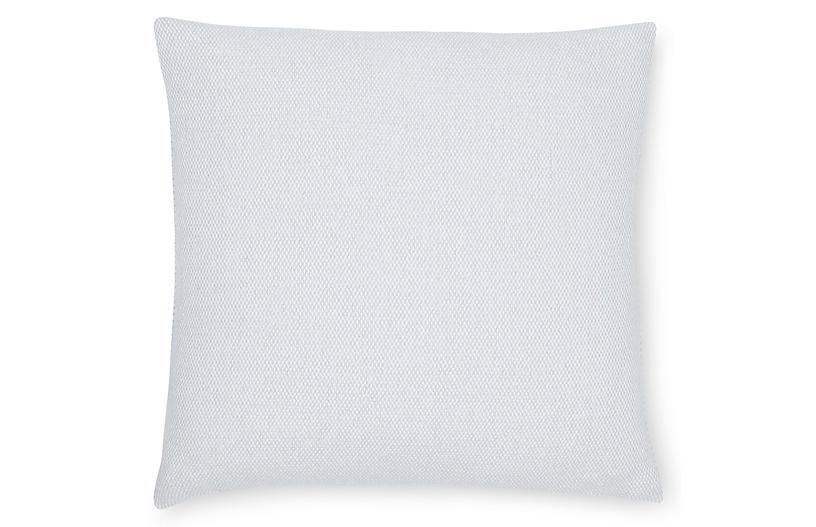 Terzo 22x22 Pillow, Silversage