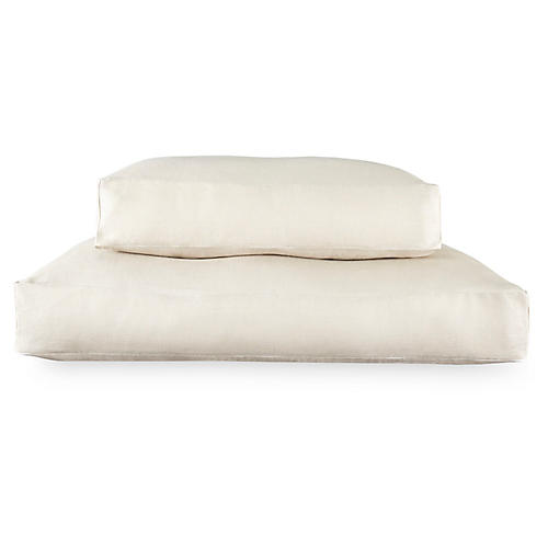 Lettino Dog Bed, Natural