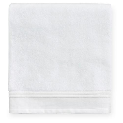 Aura Bath Sheet, White