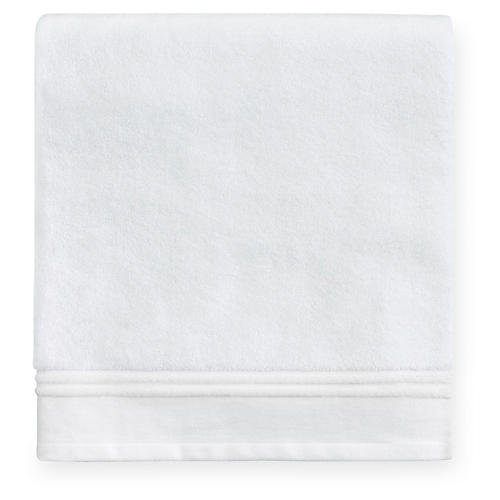 Aura Bath Sheet, White