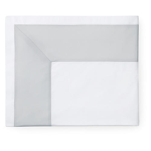 Casida Flat Sheet, White/Lunar