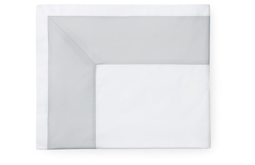 Casida Flat Sheet, White/Lunar