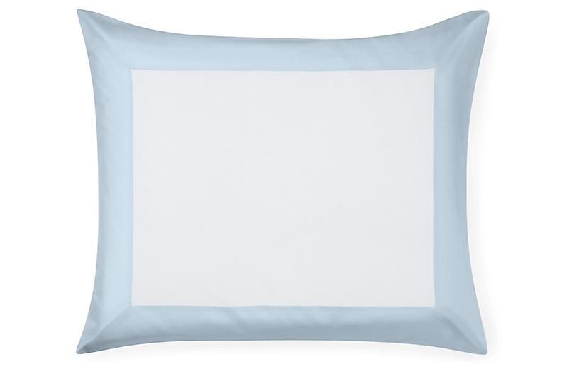 Casida Continental Sham, White/Powder