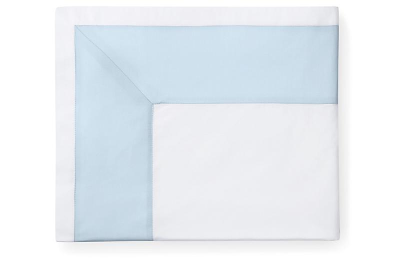 Casida Duvet Cover, White/Powder