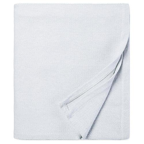 Terzo Bed End Cotton Throw, Tin