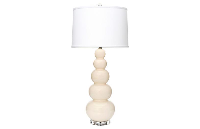 Trousdale Table Lamp, Eggshell