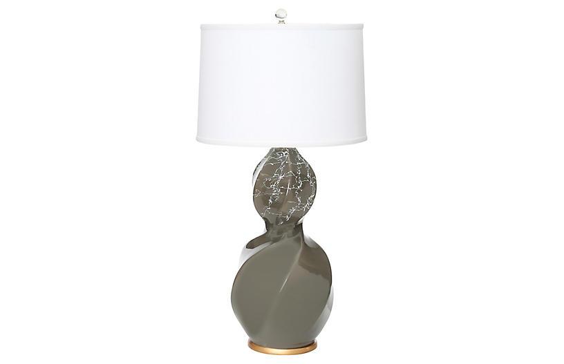 Bel Air Table Lamp, Gray