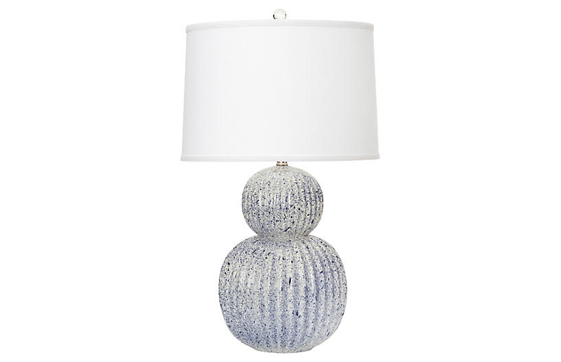 Holmby Table Lamp, Navy
