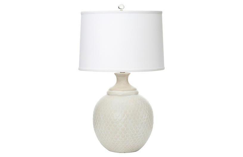Ojai Table Lamp, Matte Oak