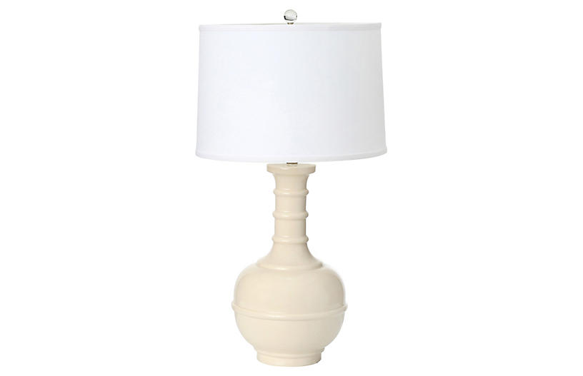 Westwood Table Lamp, Ivory