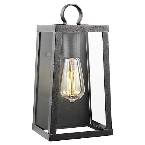 Marinus Small Outdoor Sconce, Blacksmith