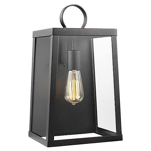 Marinus Outdoor Sconce, Blacksmith