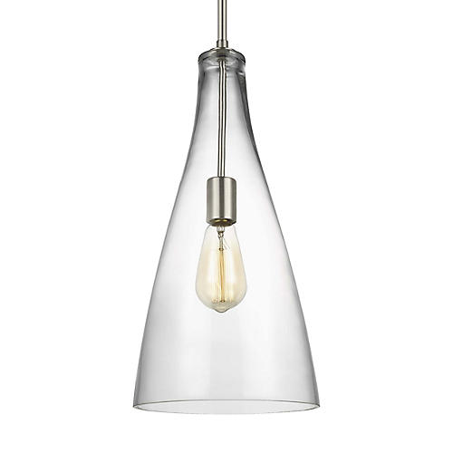 Arilda Pendant, Brushed Nickel