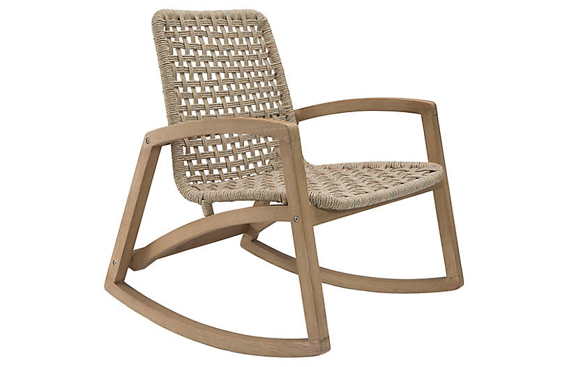 Fuego Rocking Chair, Natural