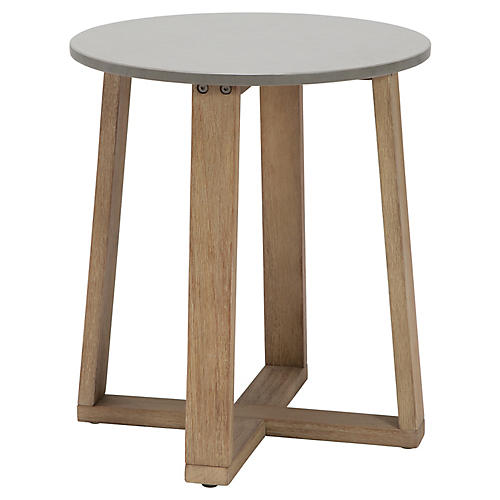 Fuego Side Table, Natural