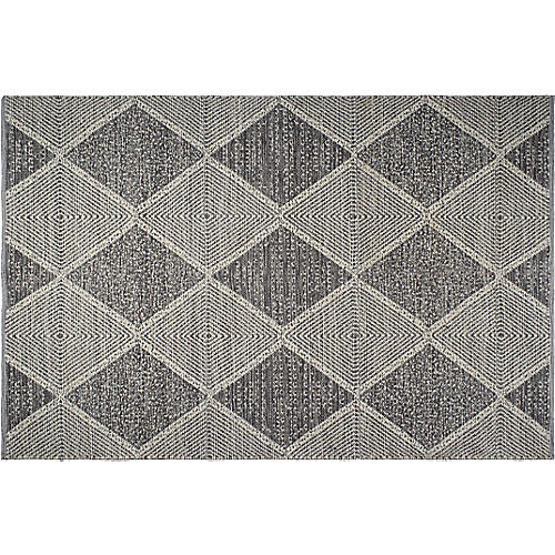 Payne Outdoor Rug, Gray