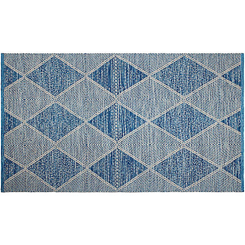 Payne Outdoor Rug, Blue