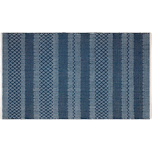 Preston Outdoor Rug, Blue