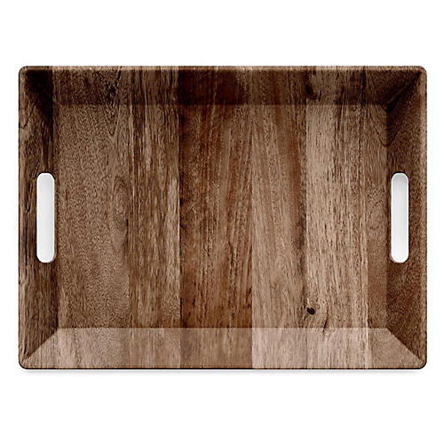Booker Serving Tray, Brown