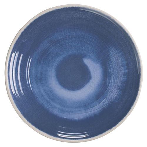 S/6 Duval Dinner Plates, Blue