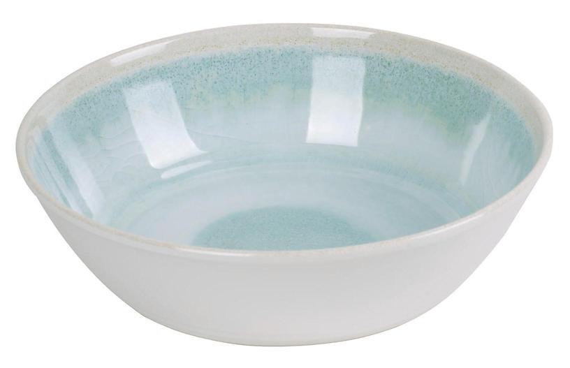 S/6 Duval Bowls, Aqua