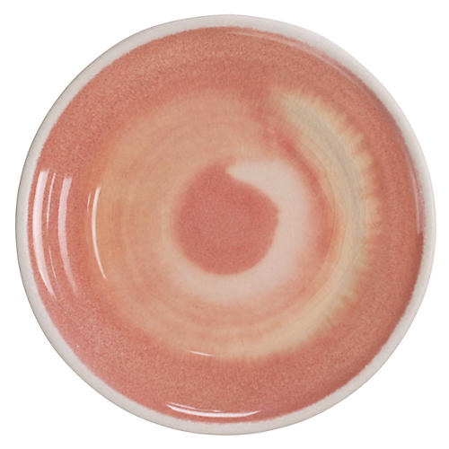 S/6 Duval Salad Plates, Coral