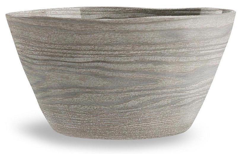 S/6 Breaon Bowls, Gray