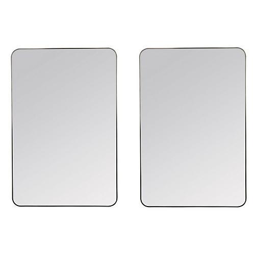 Dillion Wall Mirrors, Bronze