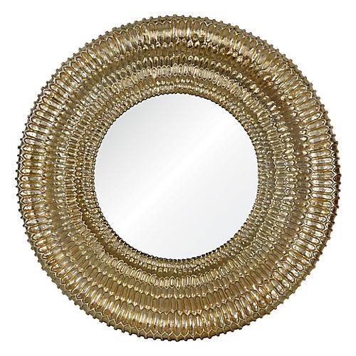 Celine Wall Mirror, Gold