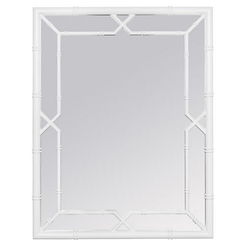 Medina Wall Mirror, White