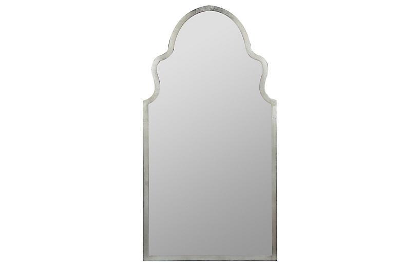 Bianca Wall Mirror, Silver