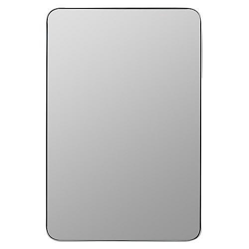 Hartline Wall Mirror, Silver