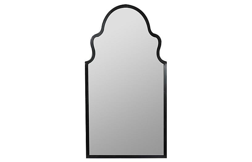 Bianca Wall Mirror, Black