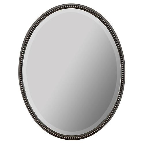 Jaxxon Wall Mirror, Silver