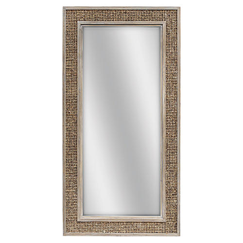 Cameron Floor Mirror, Brown