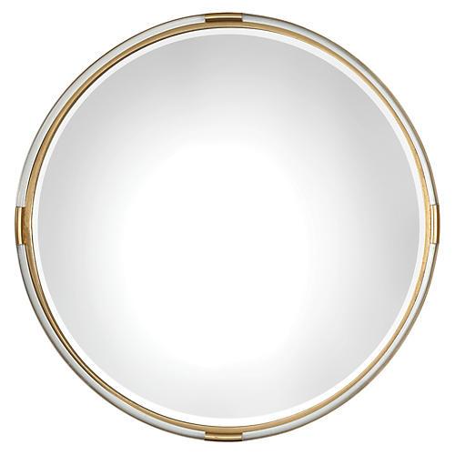 Mackai Wall Mirror, Clear