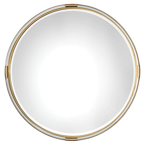 Mackai Wall Mirror, Clear
