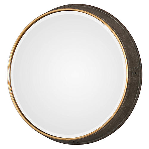 Sturdivant Wall Mirror, Brown