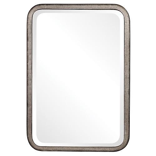 Madox Wall Mirror, Gray