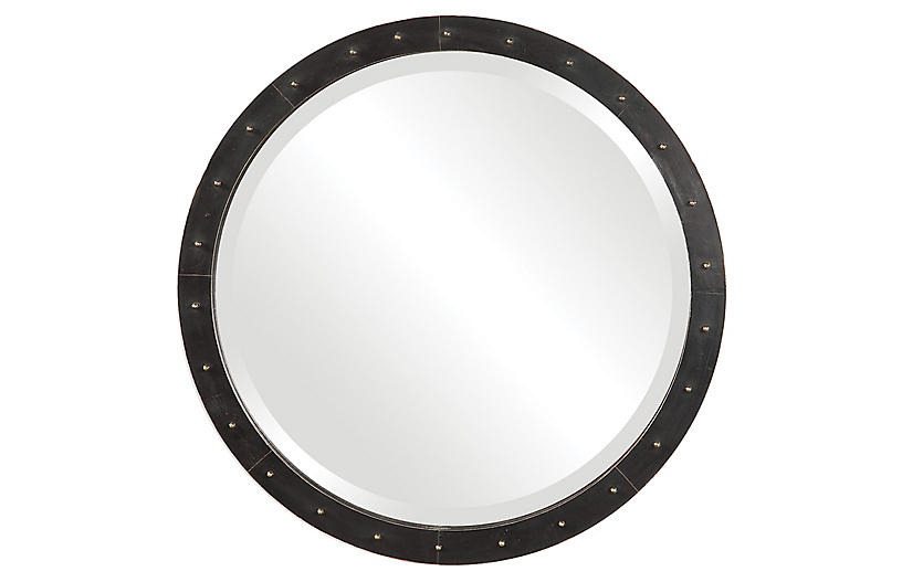 Beldon Wall Mirror, Black