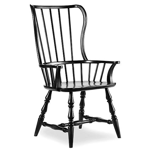 Sian Armchair, Black