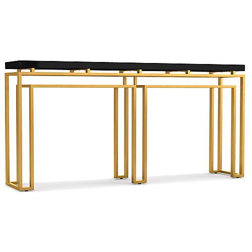 Serendipity Console, Black/Gold