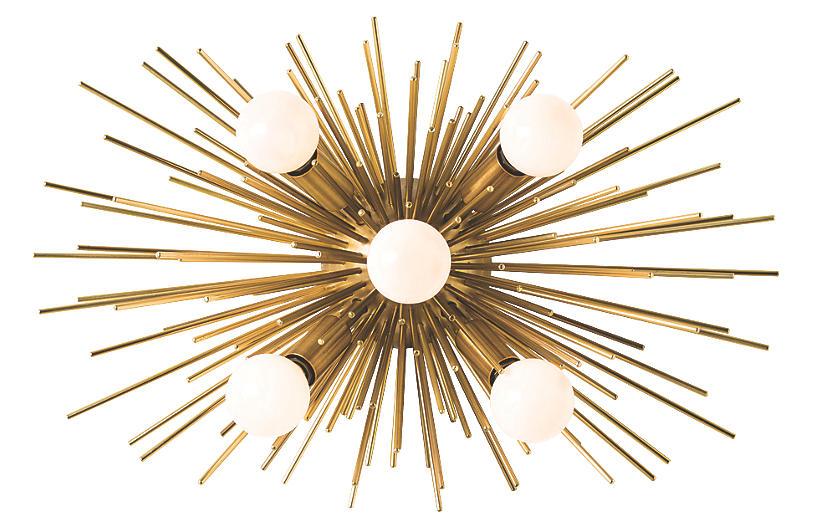 Zanadoo Sconce, Heritage Brass
