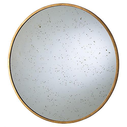 Kira Wall Mirror, Gold Leaf