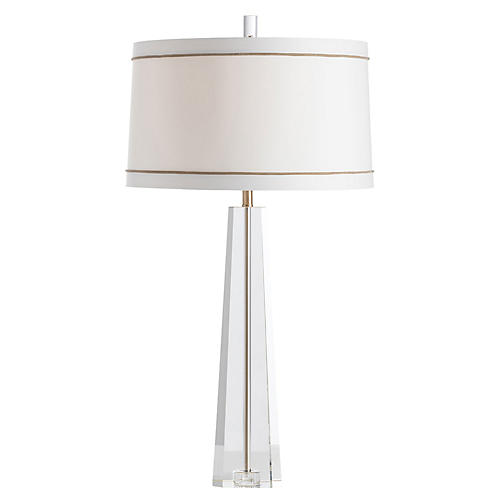 Grace Table Lamp, Clear