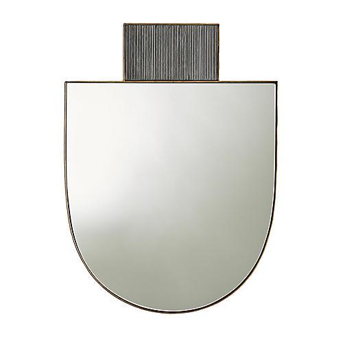 Lianna Wall Mirror, Gold
