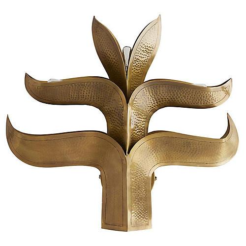 Botany Sconce, Brass