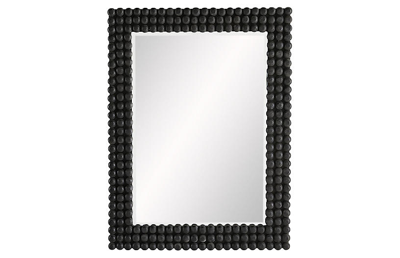 Paxton Wall Mirror, Black